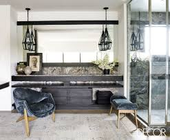 elle decor home courteney cox at home in her malibu beach house