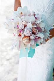 Seashell Bouquet Books To Tambourines 11 Alternative Wedding Bouquets For Brides