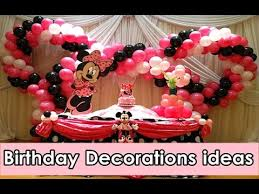 birthday party ideas birthday celebration decoration ideas youtube