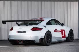 audi race car audi tt one make race series launched only motors