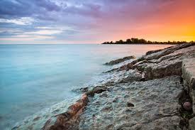 Sunset Orange by File Blue Pink Orange Sky At Sunset Woodbine Beach Toronto
