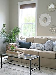 Interior Design Cost For Living Room No Money Decorating For Every Room Beige Sofa Thrifty Decor