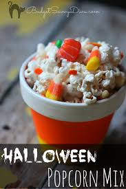 Easy To Make Halloween Snacks by Halloween Popcorn Mix Recipe Budget Savvy Diva