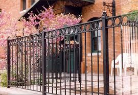 fort collins colorado ornamental wrought iron fencing cedar supply