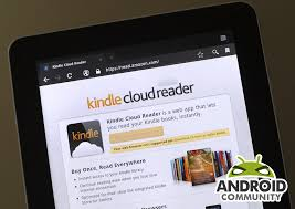 is kindle android ignores android with new kindle cloud reader web app