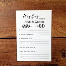 and groom advice cards wedding advice cards advice for the and groom guest book