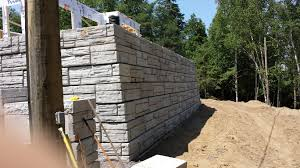 Recon Retaining Wall by Precast Concrete Products Boyd Bros Concrete Ottawa Precastboyd