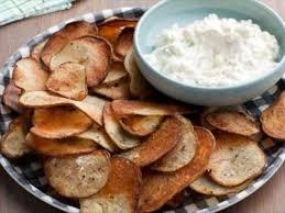 Cape Cod Russet Potato Chips - cracked pepper potato chips with onion dip recipe ellie krieger