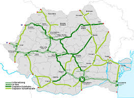 Romania Map Liste Der Autobahnen In Rumänien U2013 Wikipedia