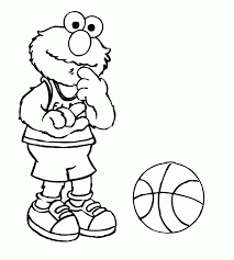 printable pictures sesame street characters coloring