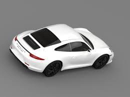 porsche car 911 porsche 911 carrera gts coupe 991 2015 by creator 3d 3docean
