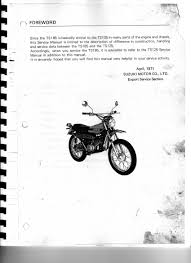 original suzuki ts tc tm forum u2022 slideshow for ts185 service manual