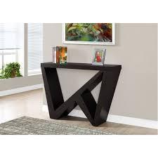 Accent Table L Table 48 L Cappuccino Console