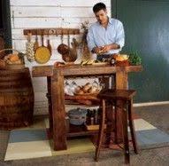 napa kitchen island beautiful kitchen eco islands from reclaimed wood treehugger