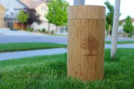 bio urn why does the living urn bio urn planting system come in a bamboo