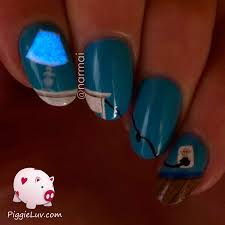 piggieluv glow in the dark table lamp nail art