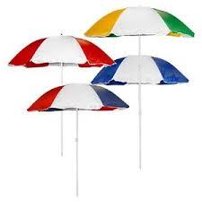 Portable Patio Umbrella by 6 Foot Beach Umbrella Large 72
