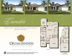 camden floor plan new construction fleming island dream finders now selling new