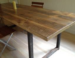 reclaimed wood table with metal legs emejing reclaimed wood dining table metal legs gallery regarding