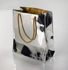 Bag Vase Bag U0027 Vase Rebecca Joselyn Designs In Silver