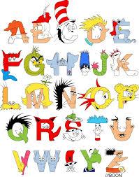 De Seuss Abc Read Aloud Alphabeth Book For Dr Seuss Alphabet By Mike Boon