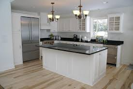 Custom Painted Kitchen Cabinets Custom Painted Bead Board Kitchen By Bergstrom Cabinets Inc