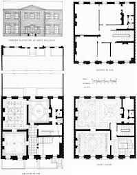 House Plan 1761 Square Feet 57 Ft by Grosvenor Square Individual Houses Built Before 1926 British