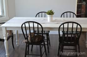 Diy Paint Dining Room Table Diy Paint Dining Room Table Easy Craft Ideas
