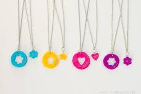 diy necklace charms images Diy quot frozen quot and quot bff quot clay charm necklaces make it and love it jpg