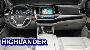 inside toyota highlander 2017 toyota highlander interior