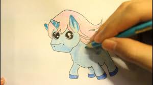 how to draw a unicorn easy cute step by step for beginners head