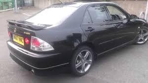 lexus sedan 2000 lexus is200 black year 2000 aero body kit review youtube