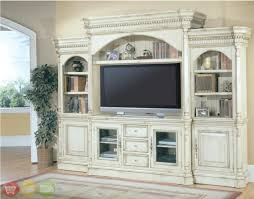 westminster large white ornate tv entertainment center wall unit