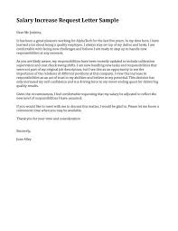 merit increase letter template pay raise letter template