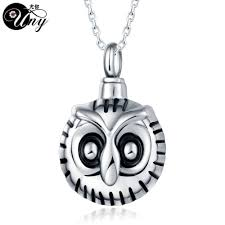 urn pendants owl urn pendants necklace allthingsfuneral