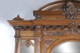 chambre napoleon 3 chambre à coucher italienne en noyer de style néo renaissance
