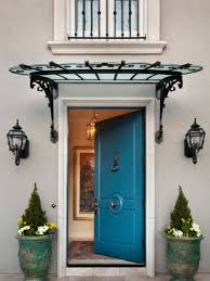 Awning Doors Front Door Awning Ideas Pictures Remodel And Decor Metal Awnings