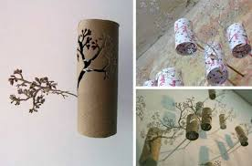 Home Made Wall Decor 30 Homemade Toilet Paper Roll Art Concepts For Your Wall Decor A