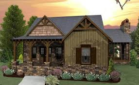 cabin style house plans 3 bedroom craftsman cottage house plan with porches