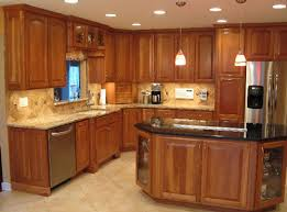 Kitchen Cherry Cabinets by Inspirations Cherry Kitchen Cabinetskitchen Paint Colors With