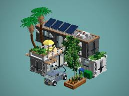 lego ideas ecological container house