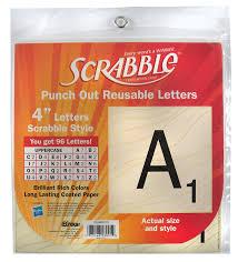 amazon com eureka scrabble letters deco 96 letters office products