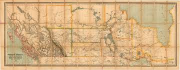 Map Of The World Bc by Map Of Manitoba Kewaydin British Columbia And North West