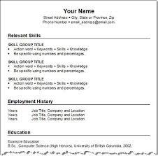 easy resume format easy resume format resume templates