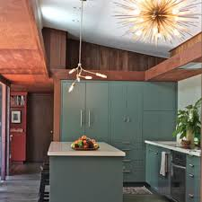 mid century modern kitchen cabinet colors 75 beautiful mid century modern kitchen with green cabinets