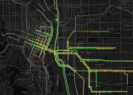 Portland Bike Maps by Five Insights About Portland U0027s Bike Network From Early Ride Report