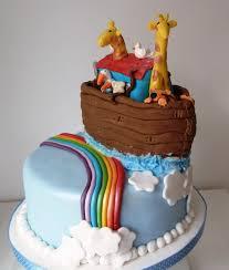 baptism decorations ideas for boy noahs ark boy christening cake google search kids cakes