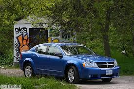 2008 blue dodge avenger 2008 dodge avenger sxt road test road test org