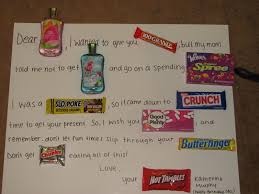 cute birthday sayings with candy quotes for candy gifts