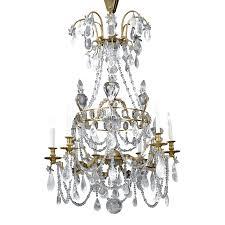 Crystal Chandelier Rock Crystal Chandelier 18th Century Lighting M S Rau